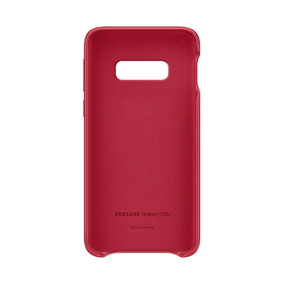 SAMSUNG LEATHER COVER RED GALAXY S10 E  Default image