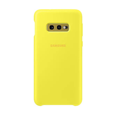SAMSUNG SILICONE COVER YELLOW GALAXY S10 E  Default image