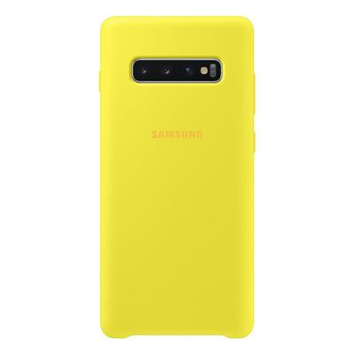 SAMSUNG SILICONE COVER YELLOW GALAXY S10+  Default image