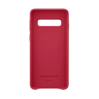 SAMSUNG LEATHER COVER RED GALAXY S10  Default image