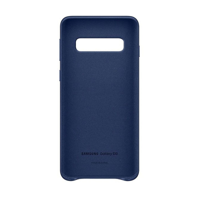 SAMSUNG LEATHER COVER NAVY GALAXY S10  Default image