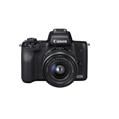 CANON EOS M50 BLACK + EF-M 15-45 MM TRAVEL KIT  Default image