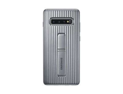 SAMSUNG PROTECTIVE STANDING COVER SILVER GALAXY S10+  Default image