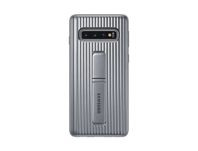 SAMSUNG PROTECTIVSTANDING COVER SILVER GALAXY S10  Default image