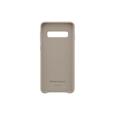 SAMSUNG LEATHER COVER GRAY GALAXY S10  Default image