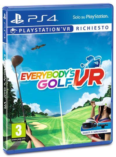 SONY ENTERTAINMENT EVERYBODY'S GOLF VR  Default image