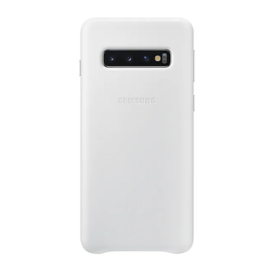 SAMSUNG LEATHER COVER WHITE GALAXY S10  Default image