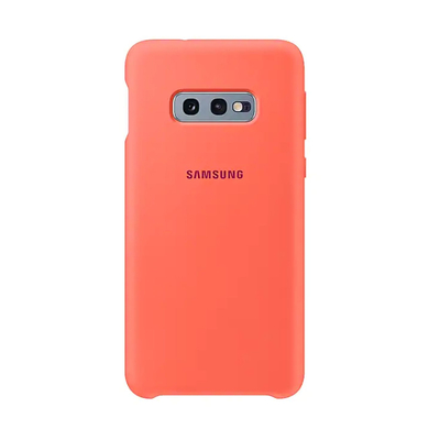 SAMSUNG SILICONE COVER BERRY PINK GALAXY S10 E  Default image