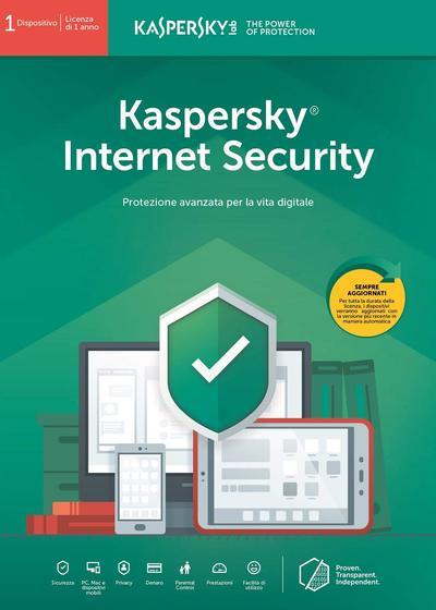KASPERSKY INTERNET SECURITY 1 USER 2019  Default image