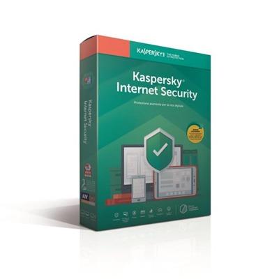KASPERSKY INTERNET SECURITY 1 USER 2019 RINNOVO  Default image
