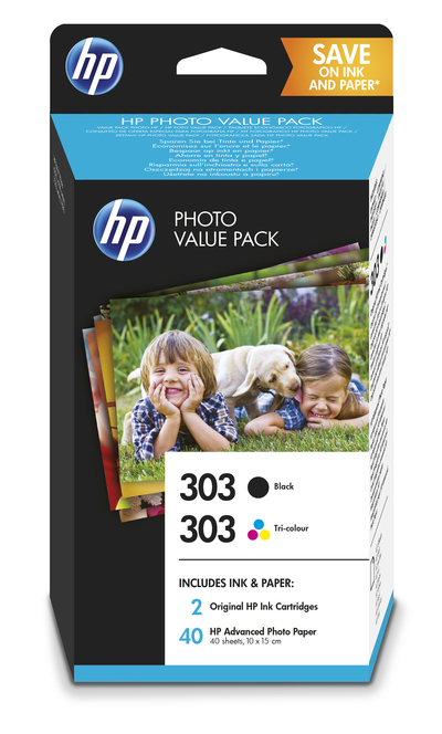 HP HP PHOTO VALUE PACK 303  Default image