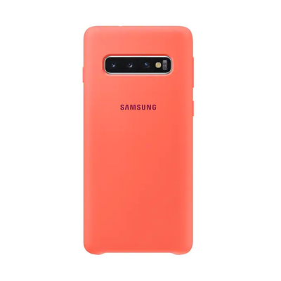 SAMSUNG SILICONE COVER BERRY PINK GALAXY S10  Default image