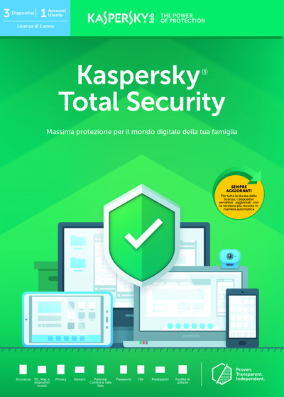 KASPERSKY TOTAL SECURITY 3 USER  Default image