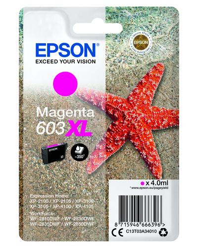 EPSON 603 STELLA MARINA T03A XL SINGLE MAGENTA  Default image
