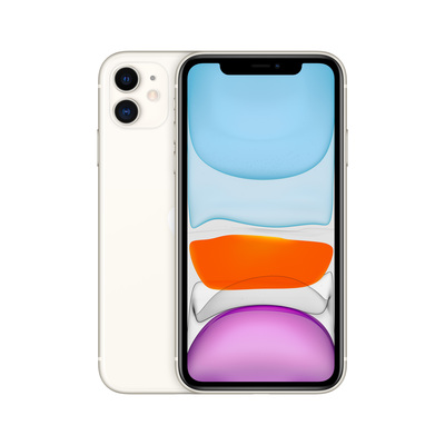 APPLE iPhone 11 64GB White  Default image