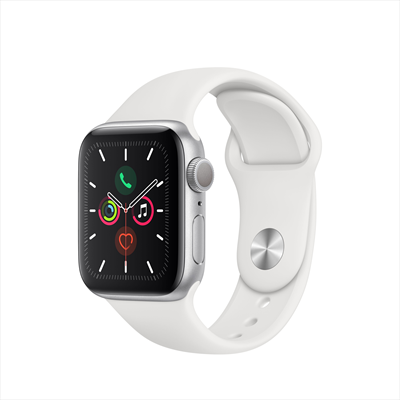 APPLE Watch Series 5 40mm White Sport Band  Default image