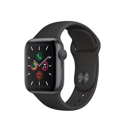 APPLE Watch Series 5, 40mm Black Sport Band  Default image