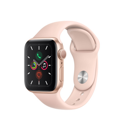 APPLE Watch Series 5, 44mm Pink Sand Sport Band S/M &M/L  Default image