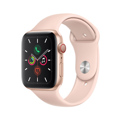 APPLE Watch Series 5 Cellular 44mm Pink Sand Sport Band  Default image