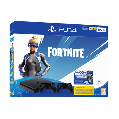 SONY ENTERTAINMENT PS4 500GB + DS4v2 + Fortnite VCH (2019)  Default image