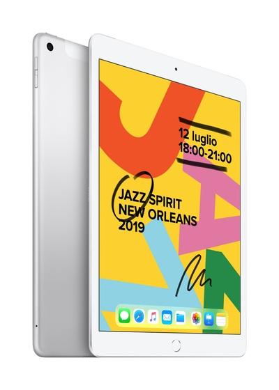APPLE 10.2-inch iPad Wi-Fi + Cellular 32GB - Silver  Default image