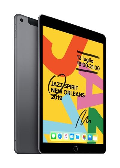 APPLE 10.2-inch iPad Wi-Fi + Cellular 128GB - Space Grey  Default image