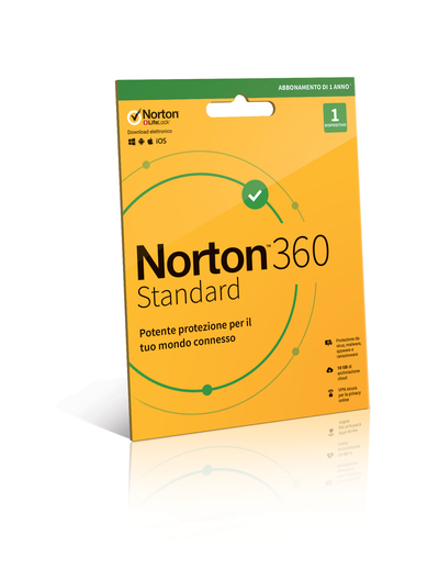 SYMANTEC NORTON 360 STANDARD - 1 DISPOSITIVO  Default image