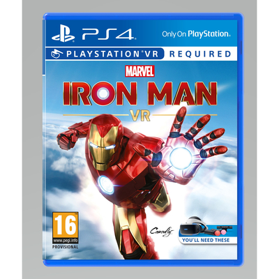 SONY ENTERTAINMENT MARVELS IRON MAN VR (PS4)/ITA  Default image