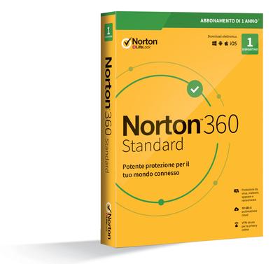SYMANTEC NORTON 360 STANDARD - 1 DISPOSITIVO  Default image