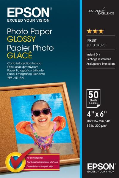 EPSON PHOTO PAPER GLOSSY 10X15CM 50 SHEET  Default image