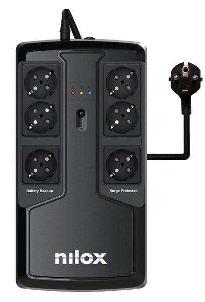 NILOX UPS OFFICE PREMIUM LI 850 VA  Default image