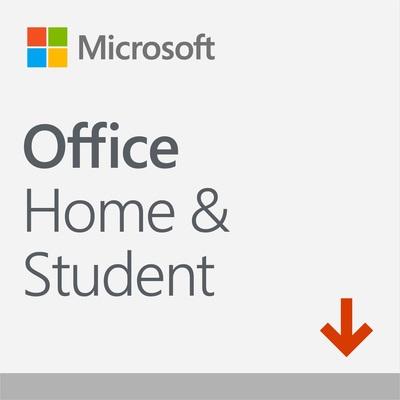 MICROSOFT OFFICE HOME AND STUDENT 2019 ITALIAN EUROZONE MEDI  Default image