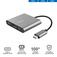 TRUST DALYX 3-IN-1 USB-C ADAPTER  Default thumbnail
