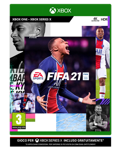 ELECTRONIC ARTS FIFA 21 UPG STANDARD EDITION XBOX ONE  Default image