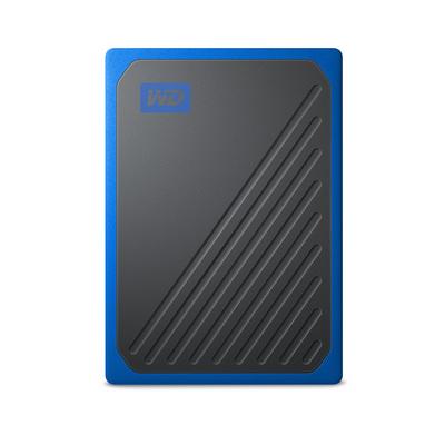 WD ( Western Digital ) MY PASSPORT GO 500GB SSD, PORTATILE, BLU  Default image