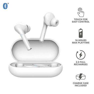 TRUST NIKA TOUCH BLUETOOTH EARPHONE WHITE  Default image