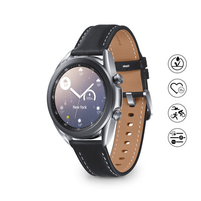 SAMSUNG Galaxy Watch3 41mm BT Mystic Silver  Default image