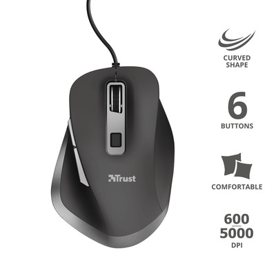 TRUST FYDA WIRED MOUSE  Default image