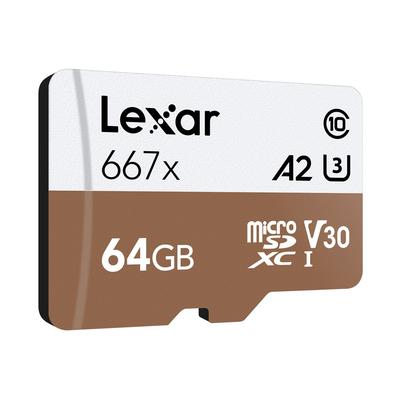 LEXAR MICROSDXC 667X 64GB W/ADAPTER  Default image