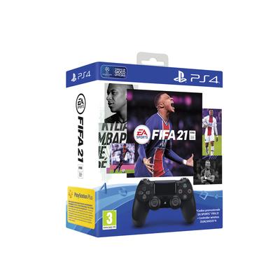 SONY ENTERTAINMENT DS4 BLACK + FIFA 21  Default image