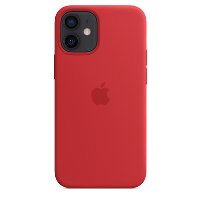 APPLE Custodia MagSafe in silicone per iPhone 12 mini  Default image