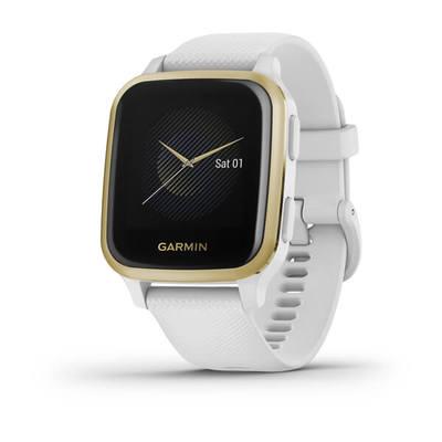 GARMIN VENU SQ, NFC, WHITE/LIGHT GOLD  Default image
