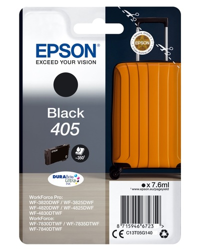 EPSON EPSON INCHIOSTRO  SERIE VALIGIA 405 STD NERO  Default image