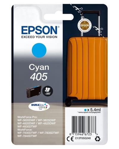 EPSON EPSON INCHIOSTRO  SERIE VALIGIA 405 STD CIANO  Default image