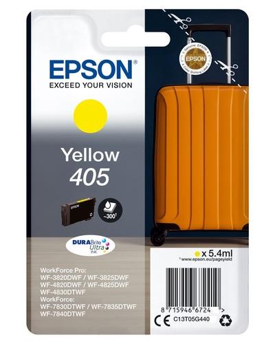 EPSON EPSON INCHIOSTRO  SERIE VALIGIA 405 STD GIALLO  Default image