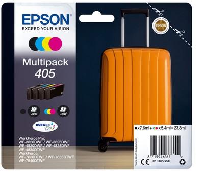 EPSON EPSON INCHIOSTRO  SERIE VALIGIA 405 STD MPK 4 COL  Default image