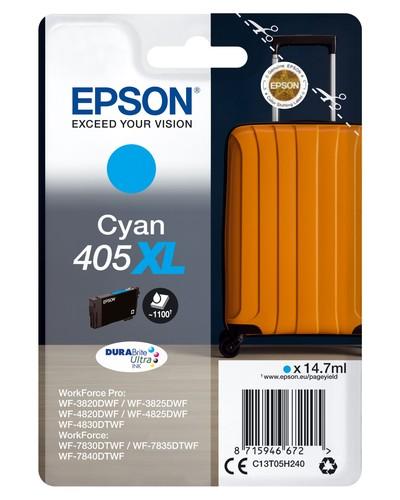 EPSON EPSON INCHIOSTRO  SERIE VALIGIA 405XL CIANO  Default image