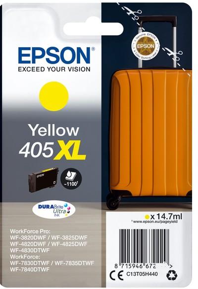 EPSON EPSON INCHIOSTRO  SERIE VALIGIA 405XL GIALLO  Default image