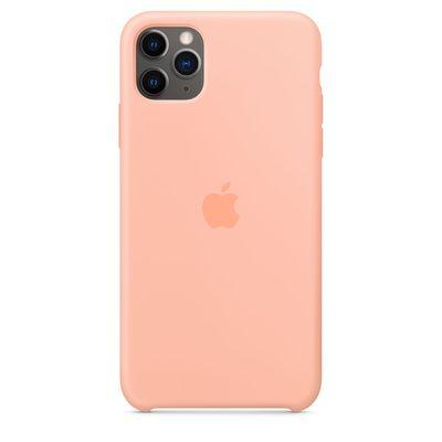 APPLE iPhone 11 Pro Max Silicone Case - Grapefruit  Default image