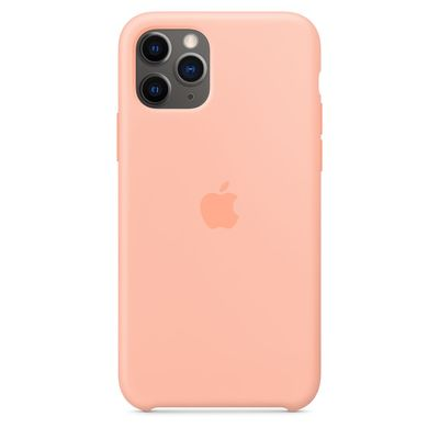 APPLE iPhone 11 Pro Silicone Case - Grapefruit  Default image